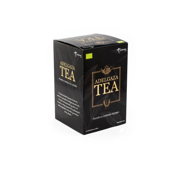 Caja en detalle del producto Adelgaza Tea