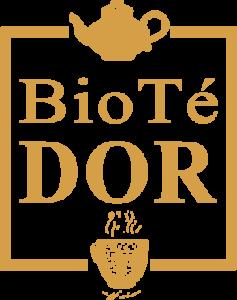 Logo BioTé Dor en dorado