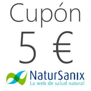 Cupón de 5 euros de descuento en Natursanix